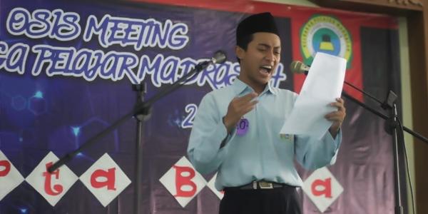 OSIS Meeting Upaya Gali Potensi Pelajar Bahrul Ulum Tambakberas